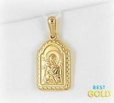 Золотая икона Божией Матери