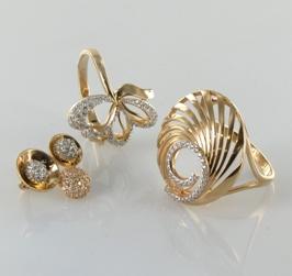 Кольца золотые: как правильно носить