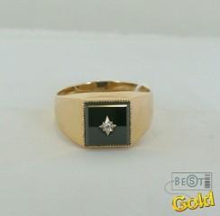 Золотая печатка. Мужские кольца