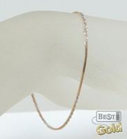 Браслет-цепочка из золота