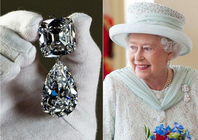 Брошь. Королевские ювелирные украшения