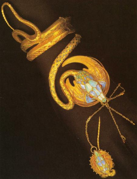 Золотой браслет Fouquet