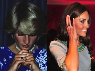 Обручальное кольцо леди Ди