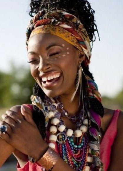 украшения в африканском стиле