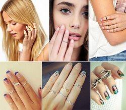 Колечки для ногтей и фаланг пальцев