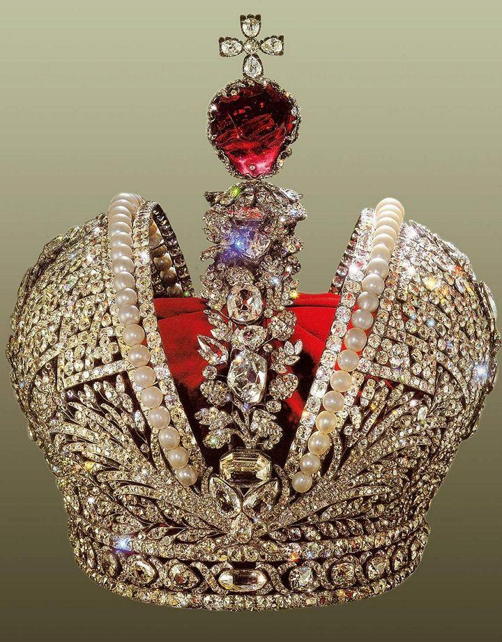 Ювелирные украшения царей. Большая императорская корона