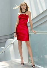 Украшения к красному платью