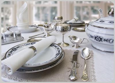 Сувениры из серебра. Семейные ценности