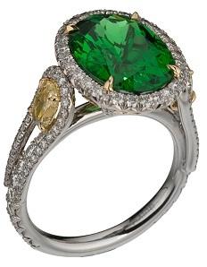 Оригинальное свадебное кольцо