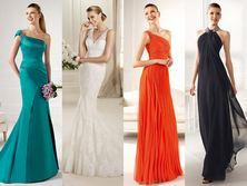 Украшения и цветные платья