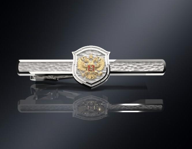 Зажим для галстука с гербом