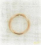 золотая серьга кольцо