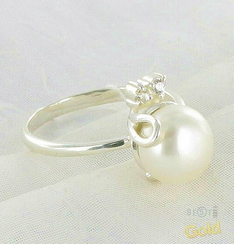 Кольцо своими руками из жемчуга