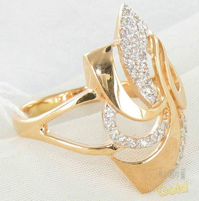женские золотые кольца фото