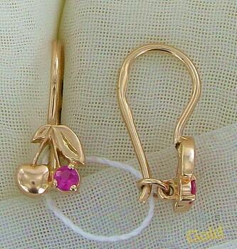 купить сережки гвоздики золотые детские