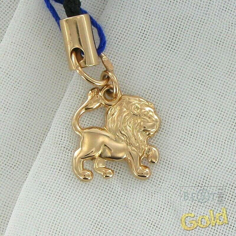 Брелок зодиака со знаком золотой