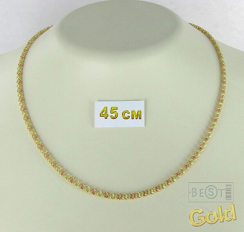 Плетение розочка золото фото