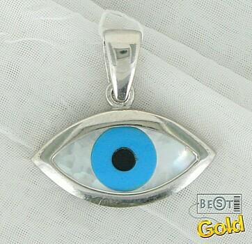 Серебряная подвеска. Всевидящее око