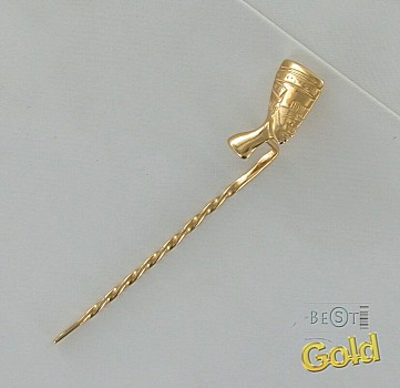 Золотая заколка