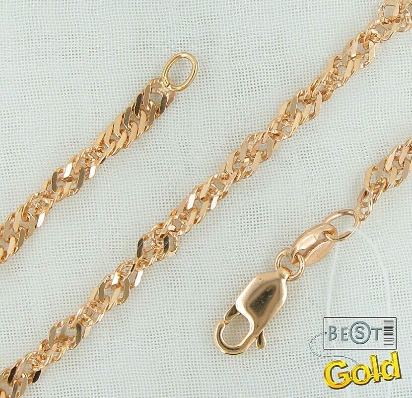 Мода на плетение золотых цепочек