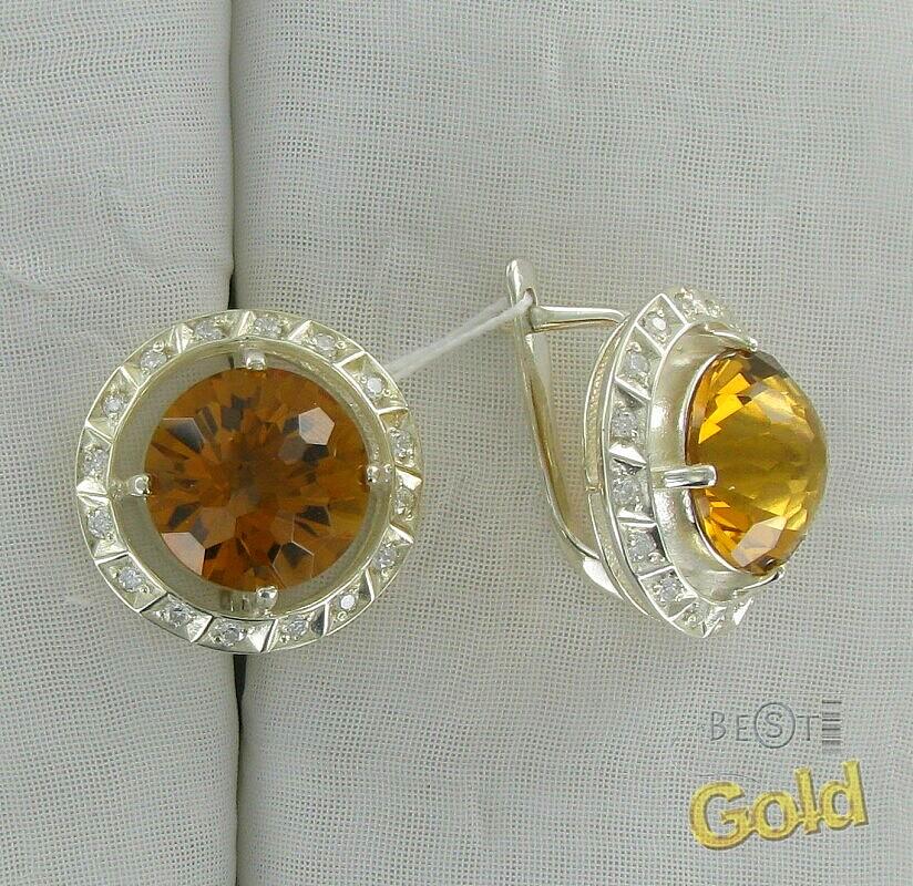 серьги пусеты золото с жемчугом
