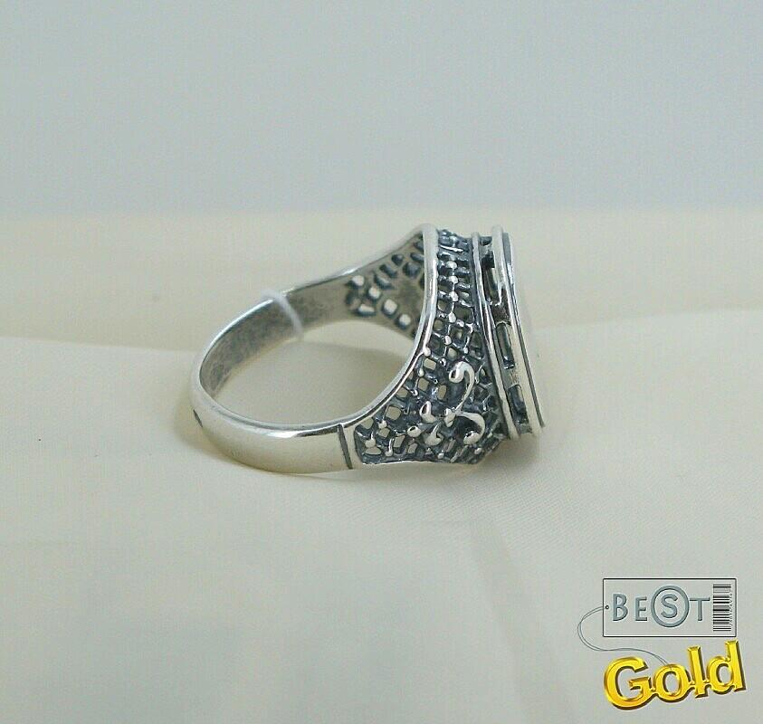 Серебряную печатку своими руками