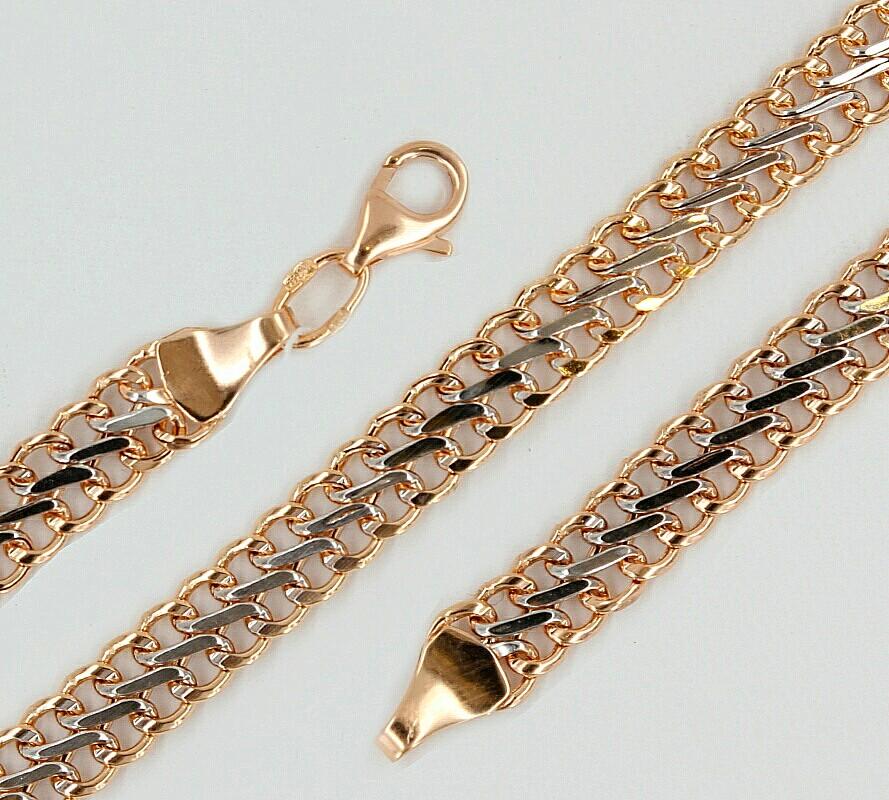 Плетение для золотой цепи