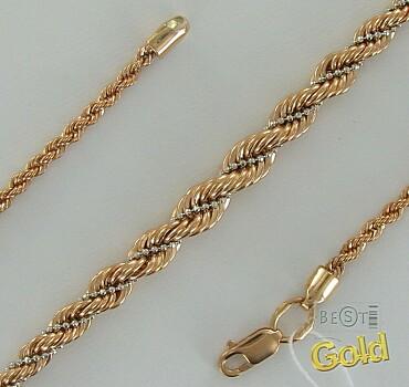 Золотая цепочка. Плетение