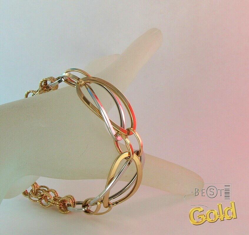 дешевые золотые браслеты женские