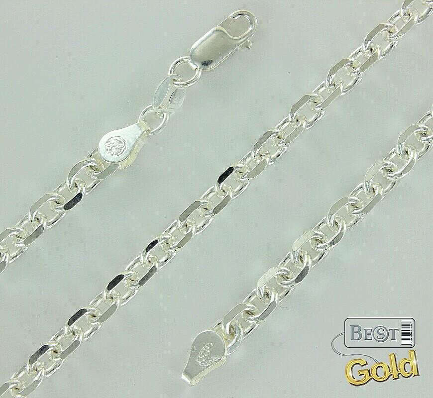 Якорное плетение серебра 53