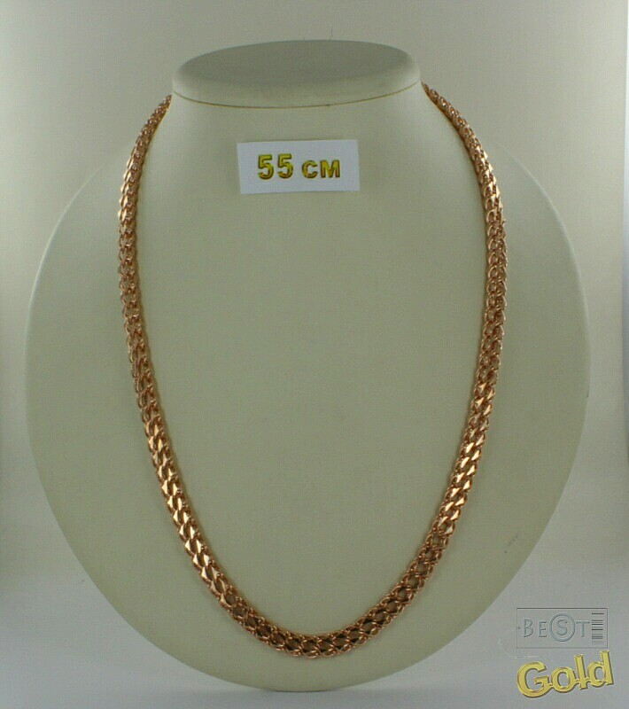 цепочка золотая мужская на шею 585