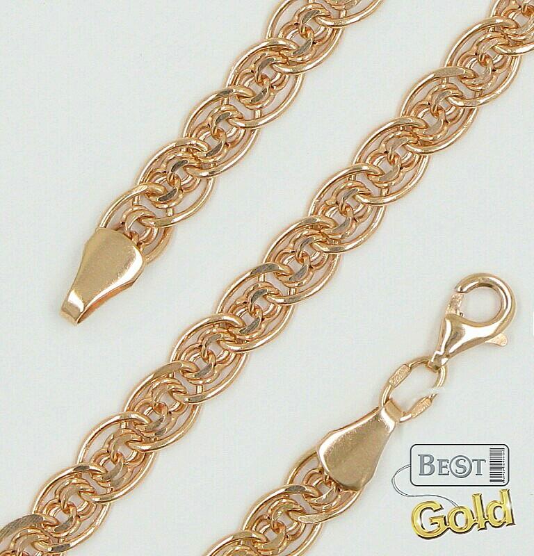 Самое прочное плетение золотого браслета
