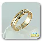 комбинированное обручальное кольцо