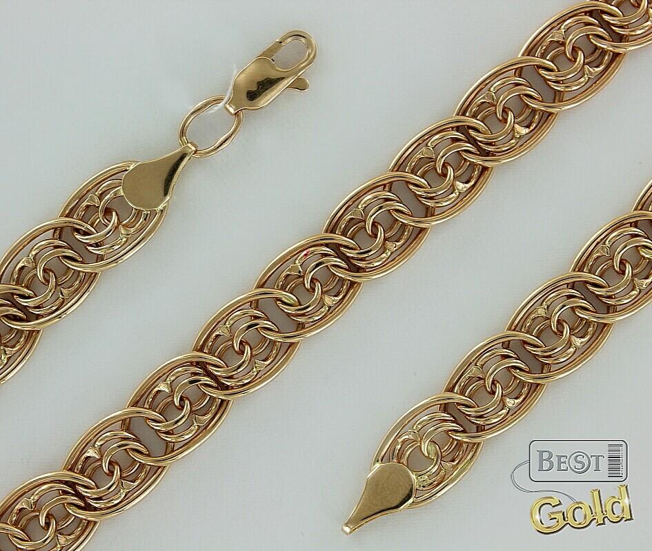 Плетение браслетов из золота фото