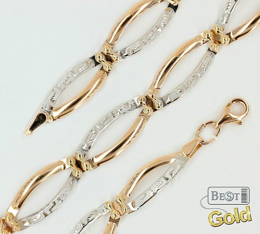 браслет золотой женский цена 585 фото