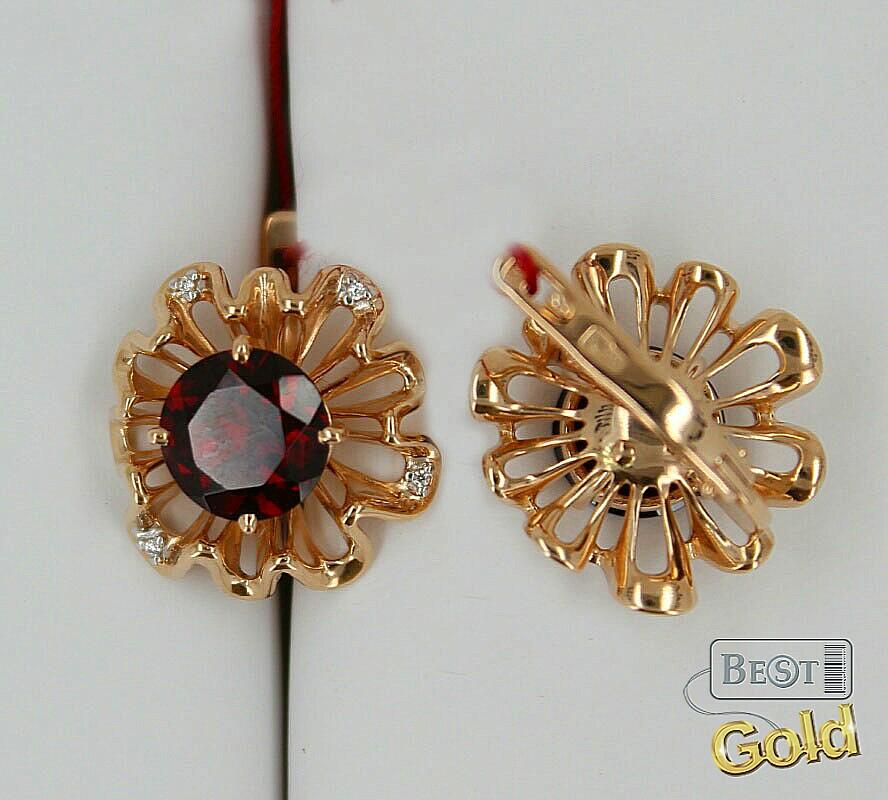 золотые кольца с фианитами диаманнт