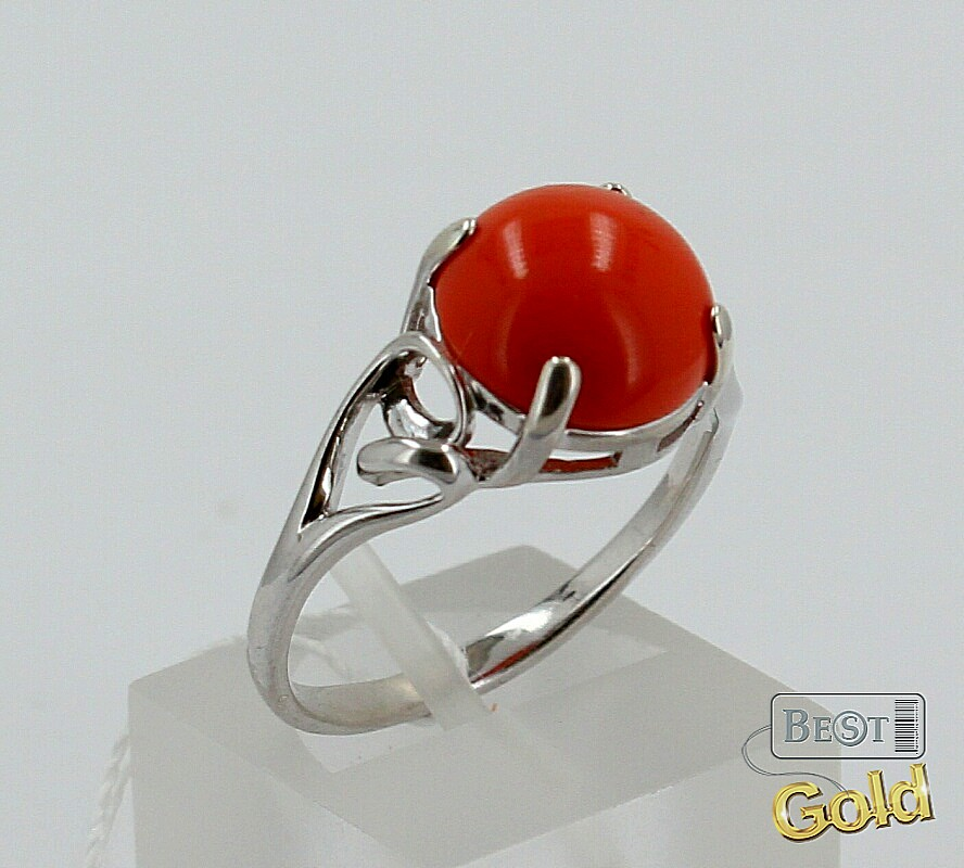 Дэвид Хартман, серебрянное кольцо с кораллом дочь попросила отца