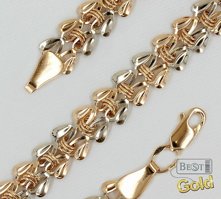 Золотые плетения для женской цепочки