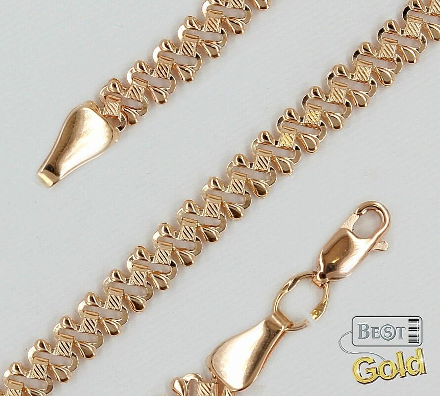 Женская золотая цепочка