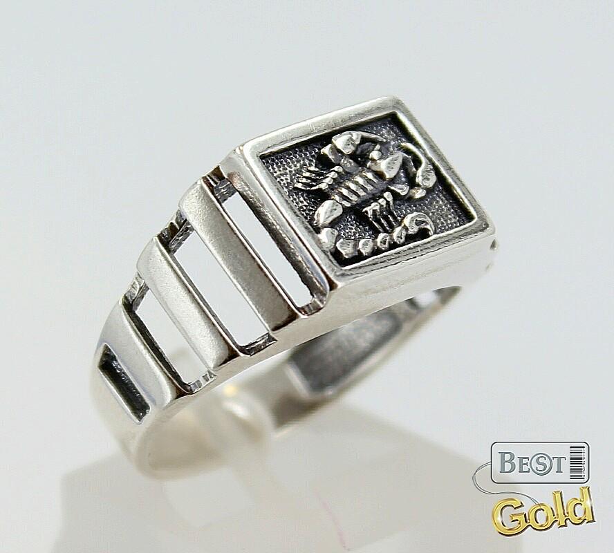 кольца со знаком скорпион