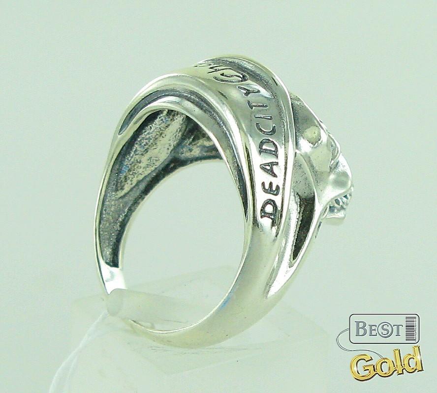 Кольцо мужское символ силы