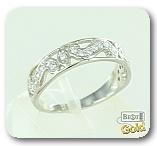 Кольцо из платины с бриллиантами