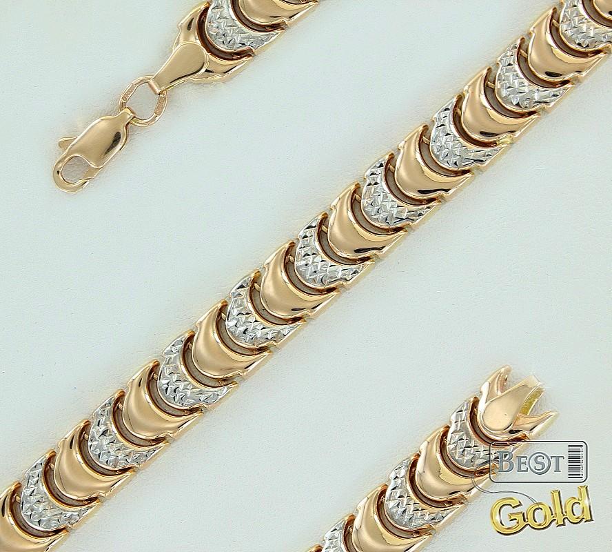 роскошные золотые браслеты фото