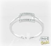 серебряное кольцо прямоугольник