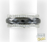 кольцо из ювелирной керамики