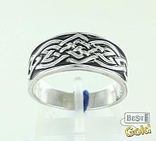 Серебряное кольцо-оберег