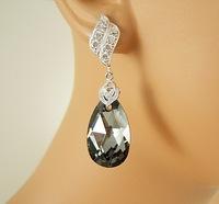 Украшение с черным бриллиантом