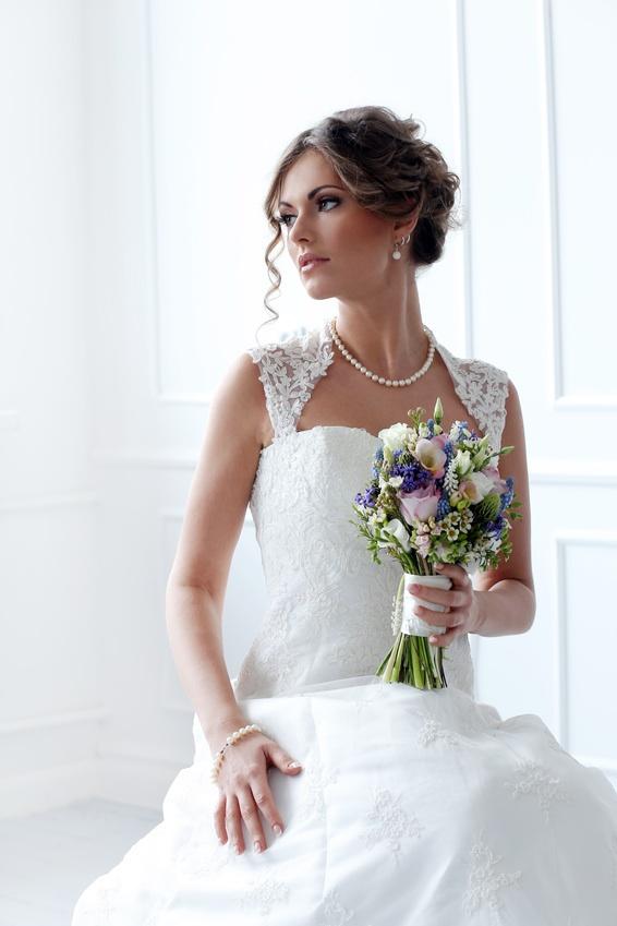 колье для невесты
