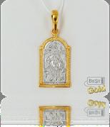 Описание: Серебряная икона