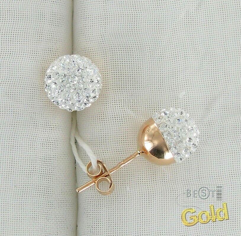 2dc3225b8d6e Золотые серьги с кристаллами Сваровски 545003-157010, купить в Москве, цена,  фото